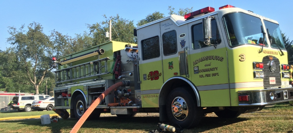 Adamsburg and Community Volunteer Fire Department Rotating Header Image