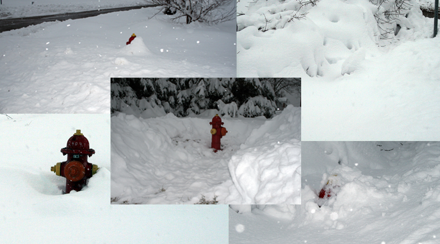 Can you find the fire hydrants in these pictures