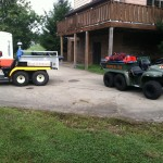 Mutual Aid and Adamsburg VFD Gator Support